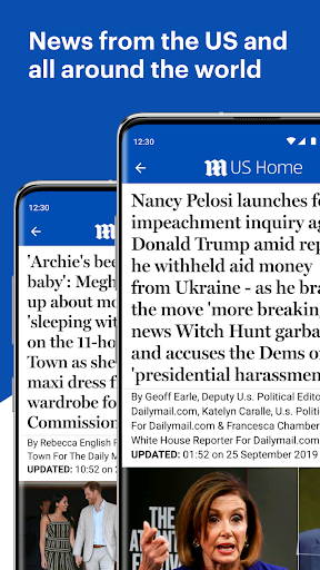 Daily Mail Online  screenshots 1