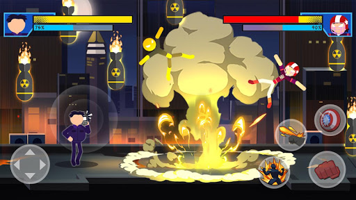 Stick Super: Hero - Strike Fight for heroes legend  screenshots 9
