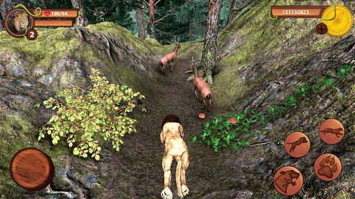 Wild Lion Simulator - Animal Family Survival Game apklade screenshots 2