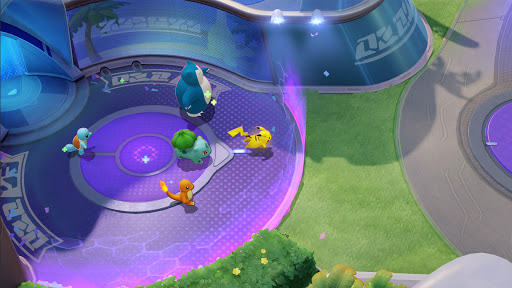 Pokémon UNITE Varies with device screenshots 1