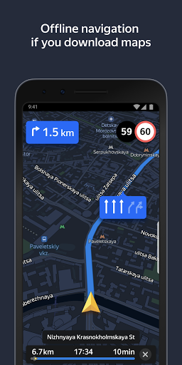 Yandex.Navigator apktram screenshots 8