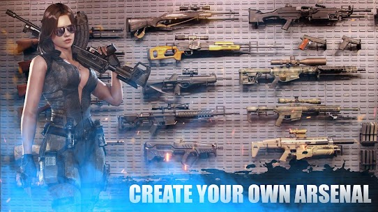Real zombie hunter MOD APK (GOD MODE/NO ADS) 6