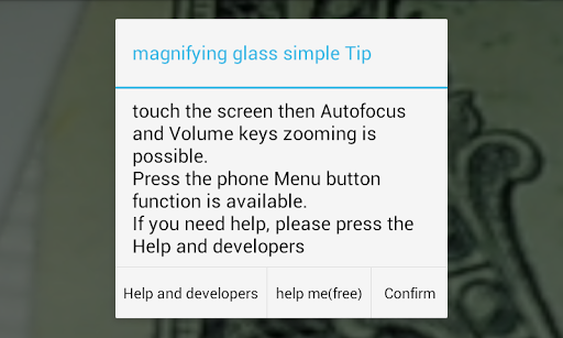 Magnifier [Magnifying Glass] For PC Windows (7, 8, 10, 10X) & Mac Computer Image Number- 5