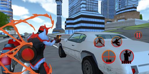 Flying Spider Hero Two -The Super Spider Hero 2020 apklade screenshots 1