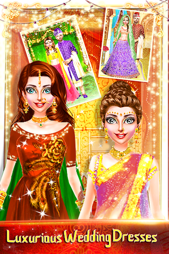 Traditional Wedding Salon - Makeup & Dress up Game screenshots 2