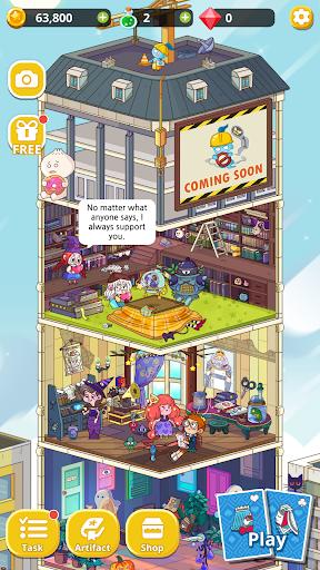 Theme Solitaire Tripeaks Tri Tower: Free card game screenshots 16