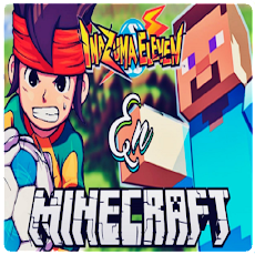 Mod Inazuma eleven go - Mod Anime Heroes Minecraftのおすすめ画像4