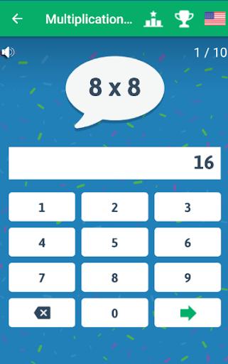 Multiplication Tables - Free Math Game 1.86 Screenshots 7