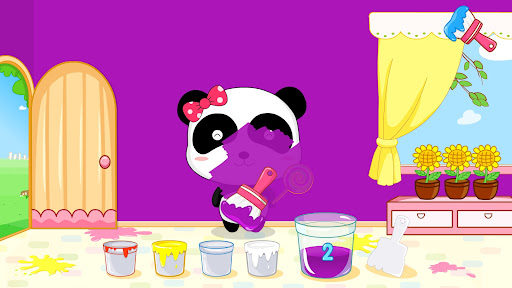 Baby Panda's Color Mixing Studio  screenshots 2