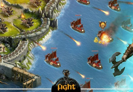Vikings War of Clans MOD APK 5.0.3.1514 (Unlimited Gold) 4