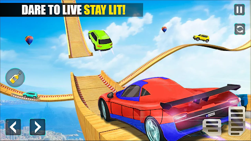 Superhero Car Stunts - Racing Car Games 1.6 screenshots 2
