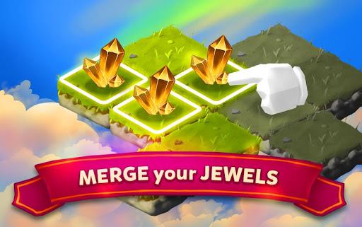 Merge Jewels: Gems Merger Evolution games screenshots 1