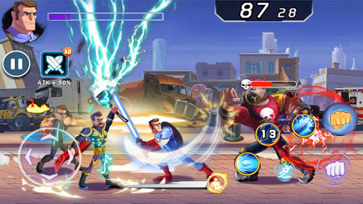 Captain Revenge - Fight Superheroes screenshots 2