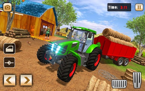 Real Tractor Drive Cargo 3D: New tractor game 2020 2