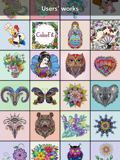 Coloring Book for family 3.2.1 screenshots 14