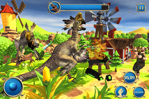 Wild Dino City Rampage: T-Rex Simulator apkmr screenshots 7
