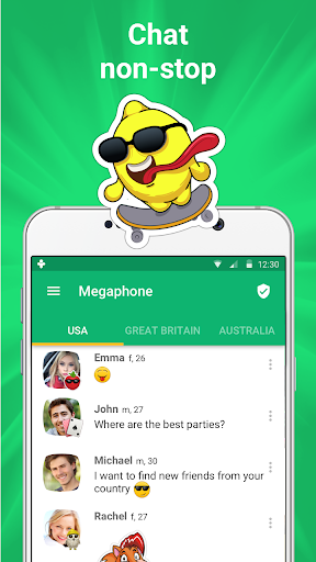 Get new friends on local chat rooms 4.6.2 Screenshots 1