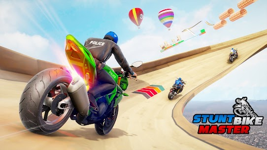 Police Bike Stunt Games MOD APK (Unlimited Money) 2