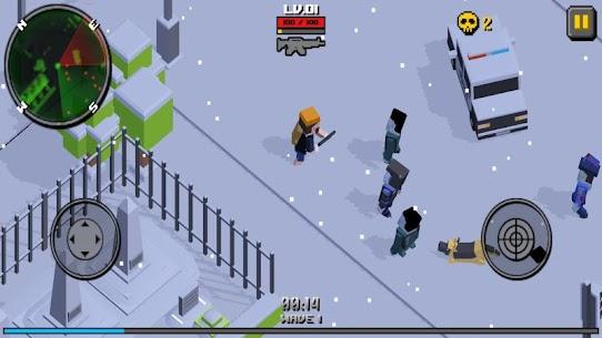 Pixel Zombie Frontier 2