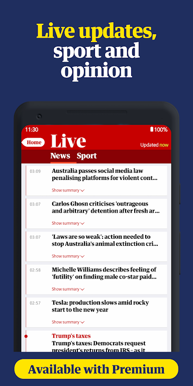 The Guardian - Live World News, Sport & Opinion  poster 2