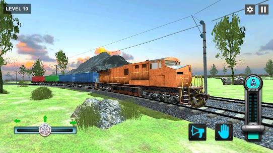New Train Racing Game 2021 –Offline Train Games 3D 5