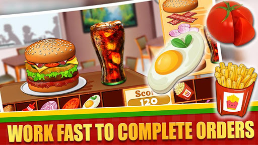 Fast Food  Cooking and Restaurant Game android2mod screenshots 3