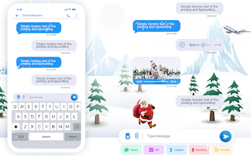 New Messenger 2021- Free Texting & Video Chat 2