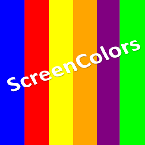Screen Colors(Burnin Tool) 7.0 by TechSofts logo