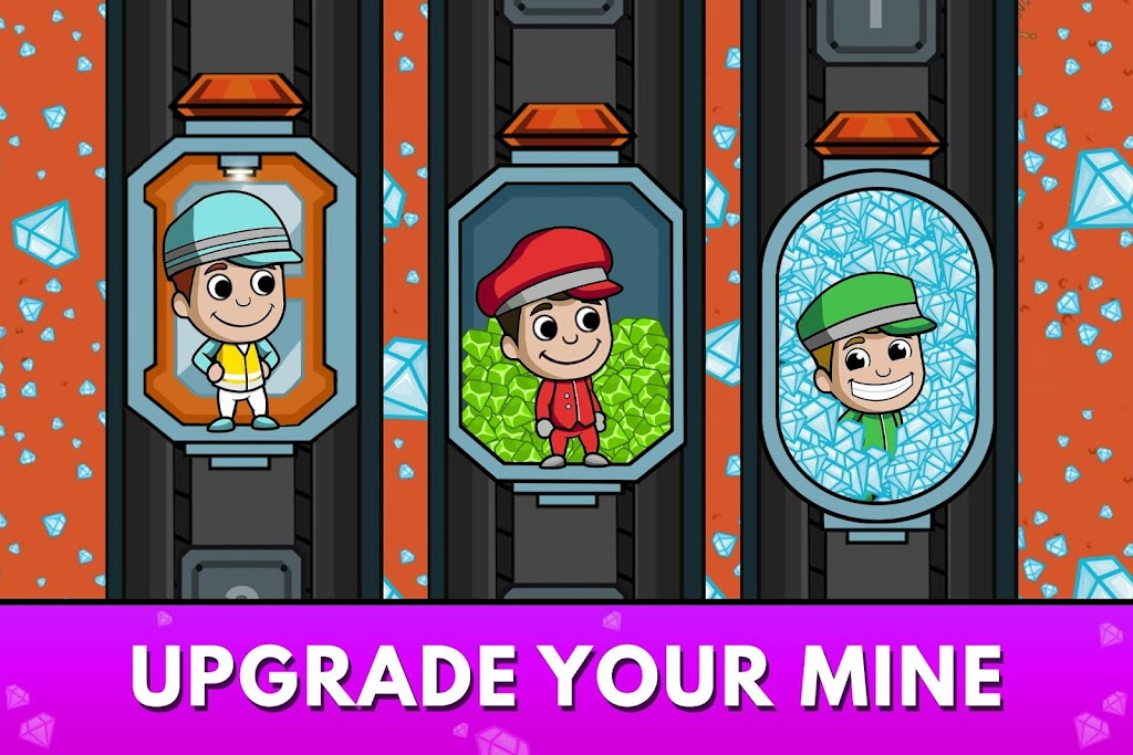 Idle Miner Tycoon: Mine & Money Clicker Management  poster 0