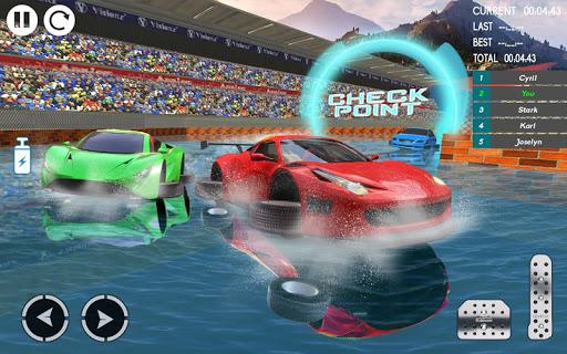 Water Car Stunt Racing 2019: 3D Cars Stunt Games 2.0 screenshots 6