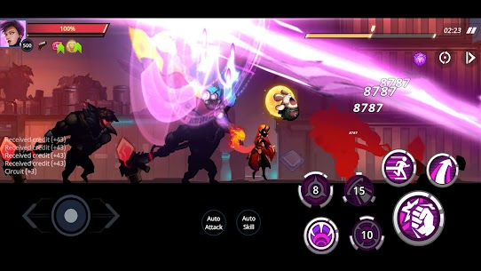 Cyber Fighters: League of Cyberpunk Stickman 2077 Apk Mod + OBB/Data for Android. 7