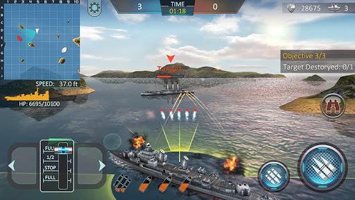 Warship Attack 3D 1.0.7 screenshots 2