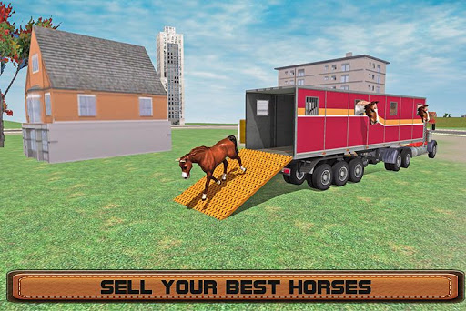 Horse Stunts Transporter Truck  screenshots 4