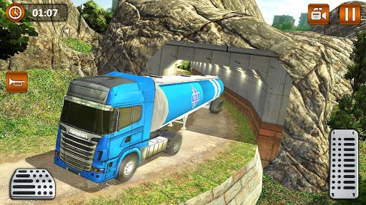 Offroad Oil Tanker Truck Transport Driver  Screenshots 8