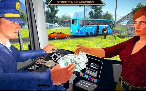 Offroad Bus Driving Simulator 2019: Mountain Bus apktram screenshots 13