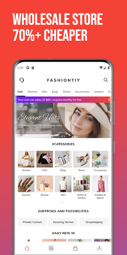 FashionTIY - Wholesale Store for wholesalers  screenshots 1