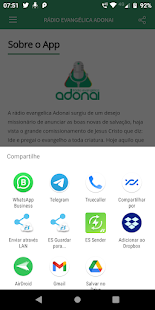 Download Rádio Evangélica Adonai For PC Windows and Mac apk screenshot 4