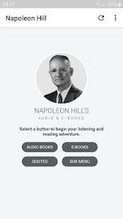 Napoleon Hill's Audio & E-Books