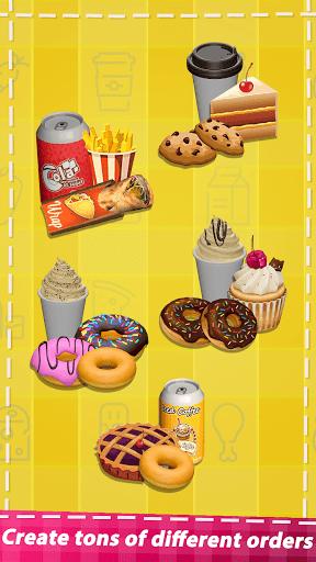 Food Simulator Drive Thru Cahsier 3d Cooking games screenshots 12