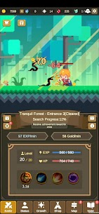 Tiny Pixel Knight – Idle RPG Adventure Tales Mod Apk 1.0.5 (Mod Gold Coins) 8