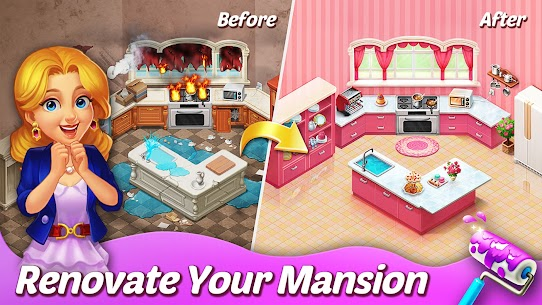Matchington Mansion APK (MOD, Unlimited Coins) for Android 2