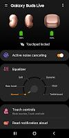 screenshot of Galaxy Buds Live Plugin