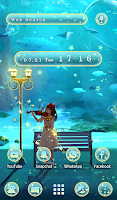 Fantasy Wallpaper Concerto under Water Theme