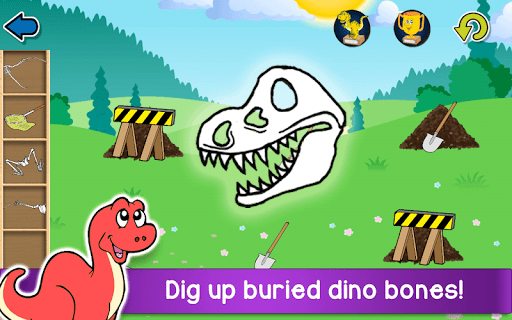 Kids Dino Adventure Game - Free Game for Children 26.6 screenshots 2