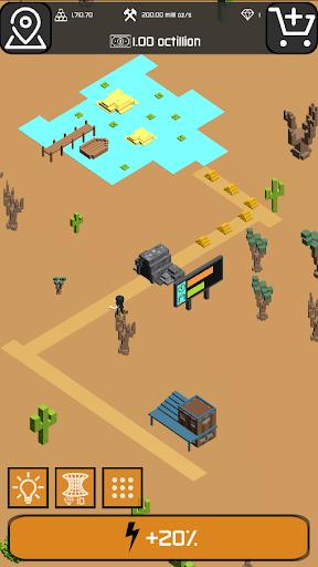 Minr - Gold Idle Incremental Rush Goldmine Tycoon  screenshots 11