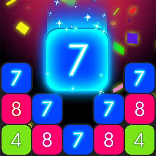 Drop & Merge - Number Puzzle