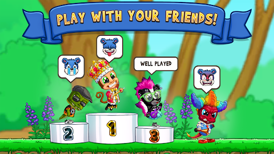 Fun Run 3 - Multiplayer Racing Games Screenshot