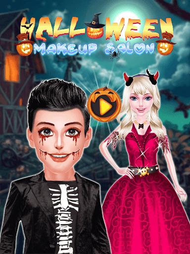 Halloween Makeup : Girls Game  screenshots 1