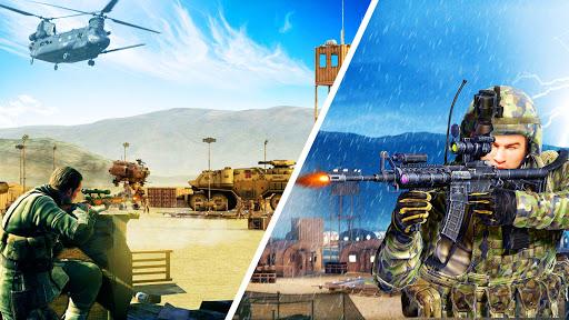 Télécharger Gratuit Army Sniper Shooter 2018: Commando Gun War apk mod screenshots 1