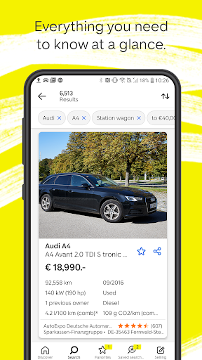 AutoScout24 - used car finder 9.6.85 Screenshots 4